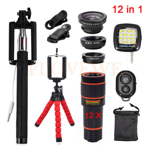 Universal 12 in 1 Zoom Kit for Mobile