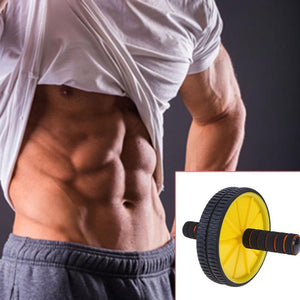 Yellow Muscle Abs Roller