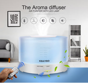 LED Ultrasonic Air Humidifier