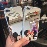 Iphone Mickey Mouse Mirror Case