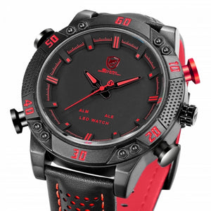 Pisis Empire- Outstanding Red/Black Men's Sport Watch