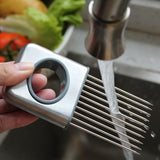 Stainless Steel Onion Fork Holder