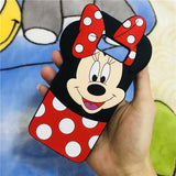 3D Samsung Cartoon Silicone Case
