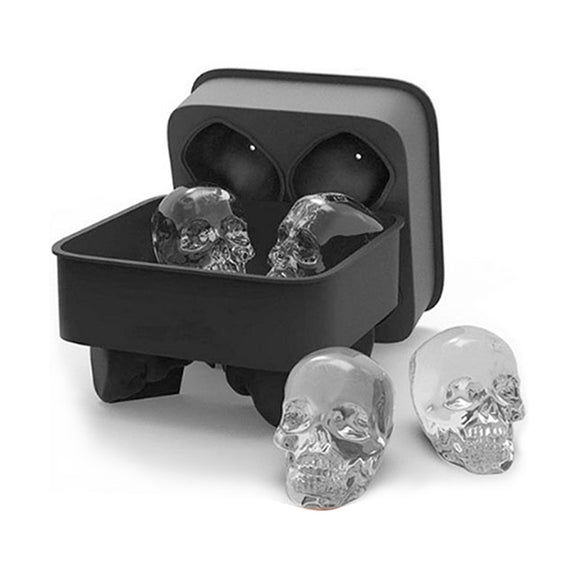 3D Skull Ice Mold Maker