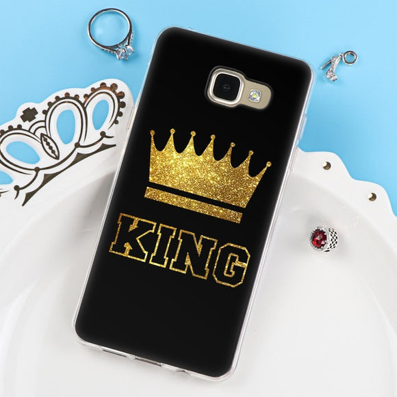 King And Queen Case For Samsung Galaxy
