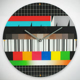Cool Test Card Wall Clock - Pisis Empire
