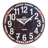 Vintage Coconut Remember Wall Clock