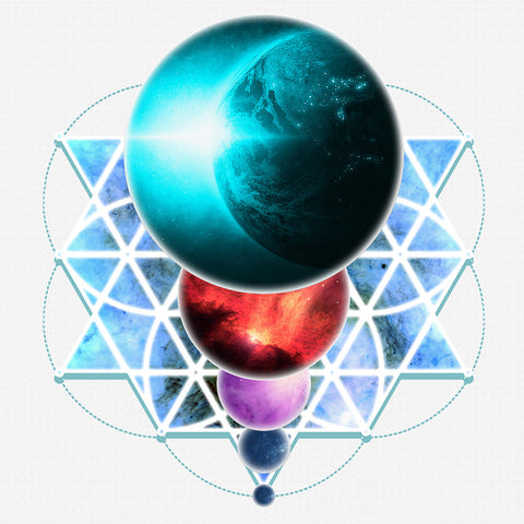 Planetary Alignment - Sticker