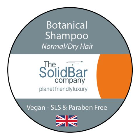 Botanical Vegan Shampoo at That Cool Place new label image