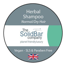 Load image into Gallery viewer, Herbal Vegan Shampoo at That Cool Place new label image