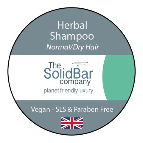 Herbal Vegan Shampoo at That Cool Place new label image