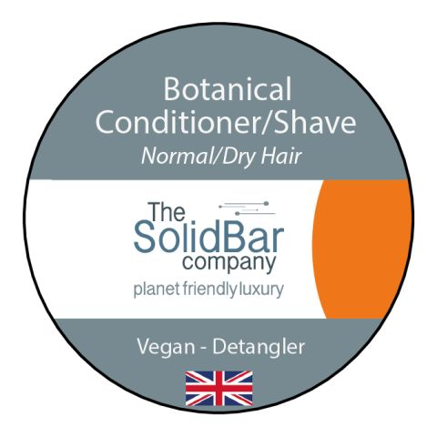 Botanical Vegan Condition/Shave at That Cool Place new label image