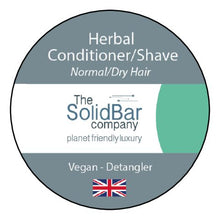 Load image into Gallery viewer, Herbal Vegan Condition/Shave at That Cool Place new label image