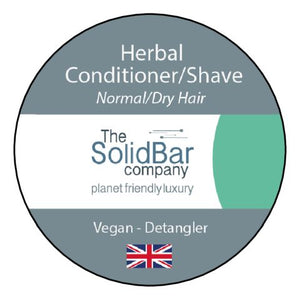 Herbal Vegan Condition/Shave at That Cool Place new label image