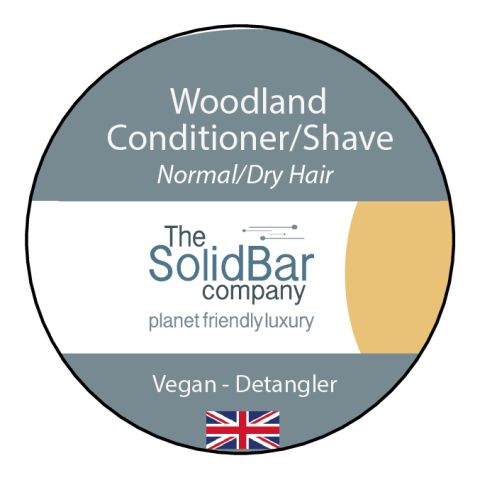 Woodland Vegan Condition/Shave at That Cool Place new label image