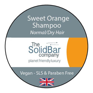 Orange Vegan Shampoo