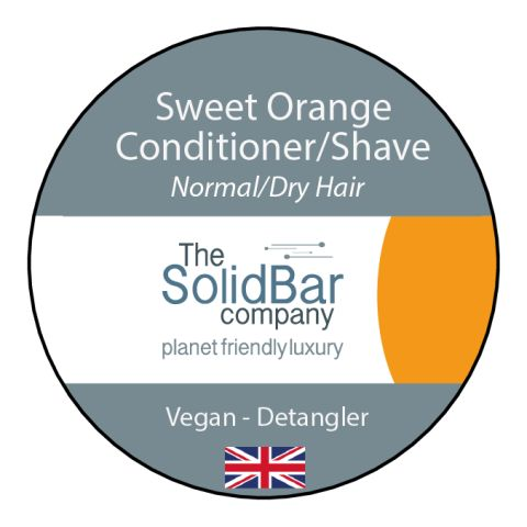 Orange Vegan Condition/Shave at That Cool Place new label image