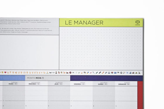 ORGANIZATION / THE MANAGER