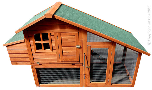 PET ONE CHICKEN COOP TWO STOREY