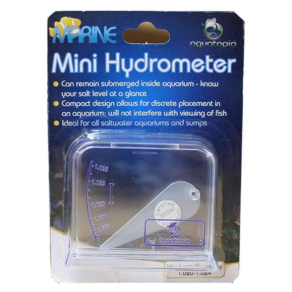 AQUATOPIA MINI HYDROMETER