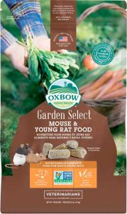 OXBOW GARDEN SELECT MOUSE/YOUNG RAT FOOD 910G