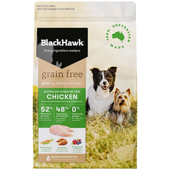 BLACK HAWK DOG GRAIN FREE CHICK 2.5KG