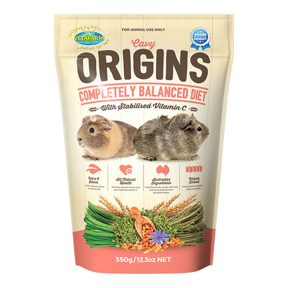 VETAFARM GUINEA PIG FOOD 350GM