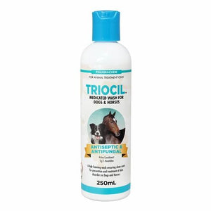 TRIOCIL ANTISEPTIC AND FUNGICIDAL SHAMPOO 250ML