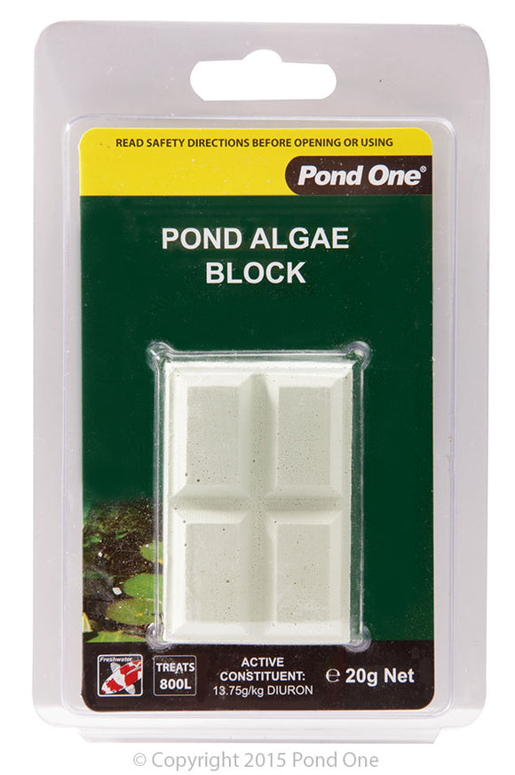 POND ONE ALGAE BLOCK 20G