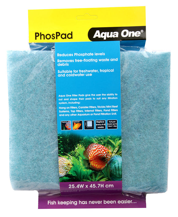 AQUA ONE PHOSPHATE PAD SELF CUT