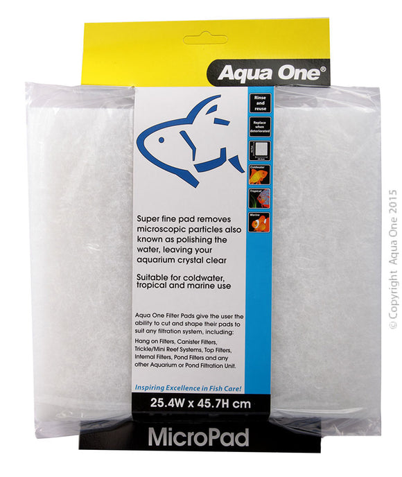 AQUA ONE MICRO PAD SELF CUT