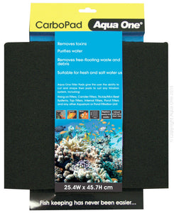 AQUA ONE CARBON PAD SELF CUT
