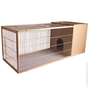 PETONE RABBIT CAGE GREEN METAL M