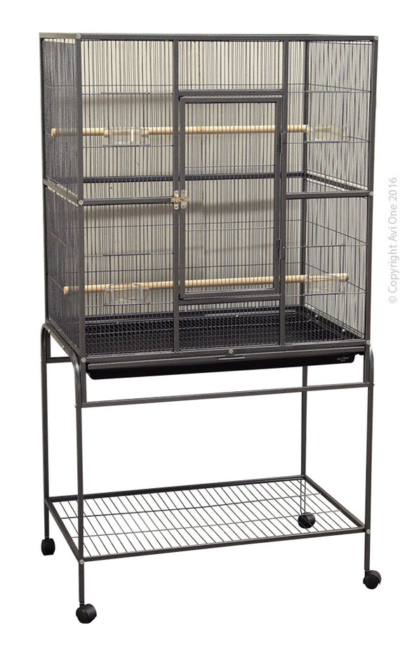 604X SQUARE FLIGHT CAGE (82L X 52W X 154H cm)