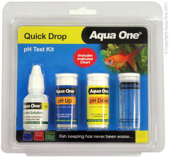 AQUA ONE TEST KIT PH 6/7.8