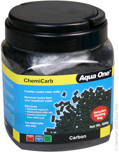AQUA ONE CHEMICARB CARBON 600G