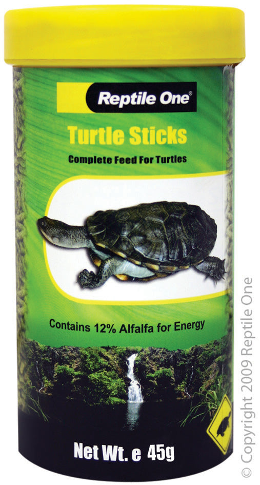 REPTILE ONE TURTLE STICK FOOD 45GM