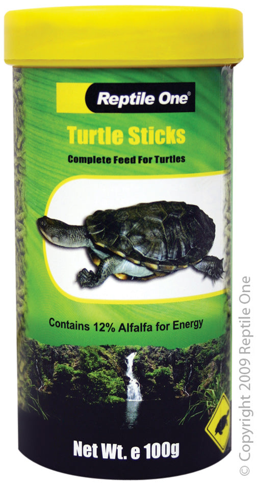 REPTILE ONE TURTLE STICK FOOD 100G