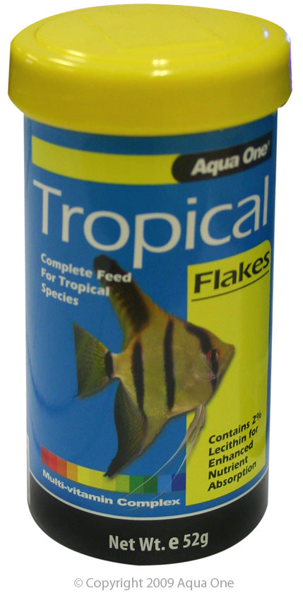 AQUA ONE TROPICAL FLAKES 52G