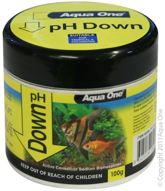AQUA ONE QUICKDROP PH DOWN 100G