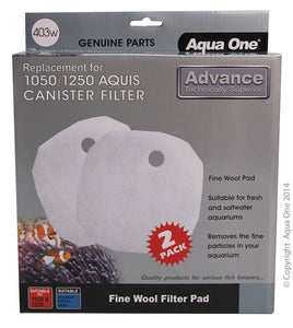 AQUA ONE WOOL 2PK 403W SUITS AQUIS 1050/1250