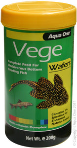 AQUA ONE VEGE WAFERS 200G