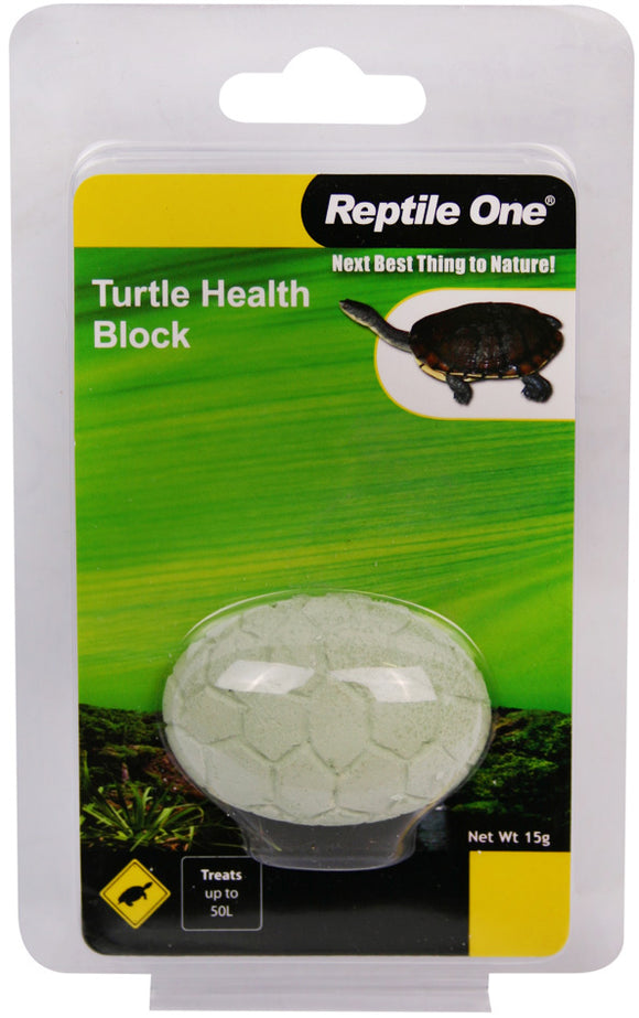 REPTILE ONE TURTLE BLOCK HEALTH CONDITIONER 15G