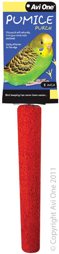 AVI ONE PUMICE PERCH 8IN RED