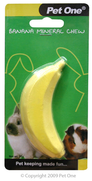 PET ONE MINERAL BANANA CHEW