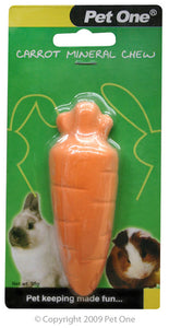 PET ONE MINERAL CARROT CHEW