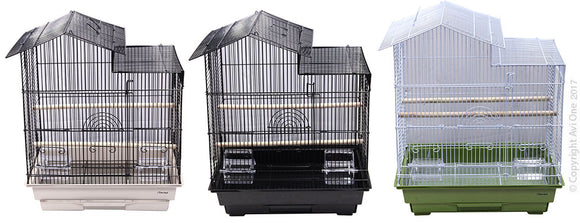AVI ONE CAGE HOUSE STYLE (46.5X36X56.5CM)