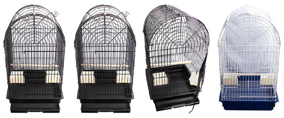 AVI ONE CAGE ARCH TOP (49X46X82CM)