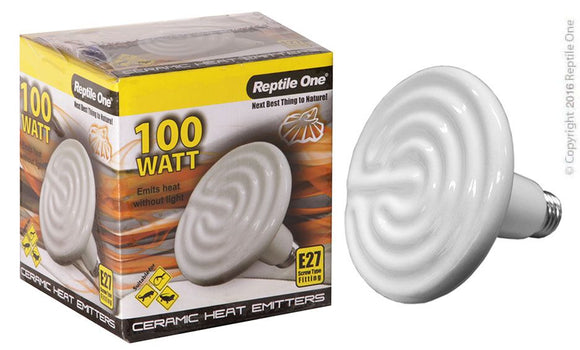 REPTILE ONE CERAMIHEAT LAMP 100W