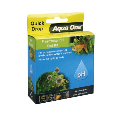 AQUAONE QUICKDROP pH FRESHWATER TEST KIT